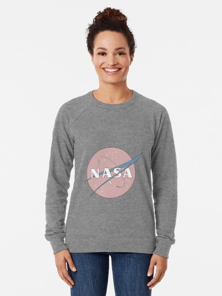 Alternative Ansicht von PASTELL NASA Leichter Pullover