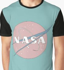PASTELL NASA Grafik T-Shirt