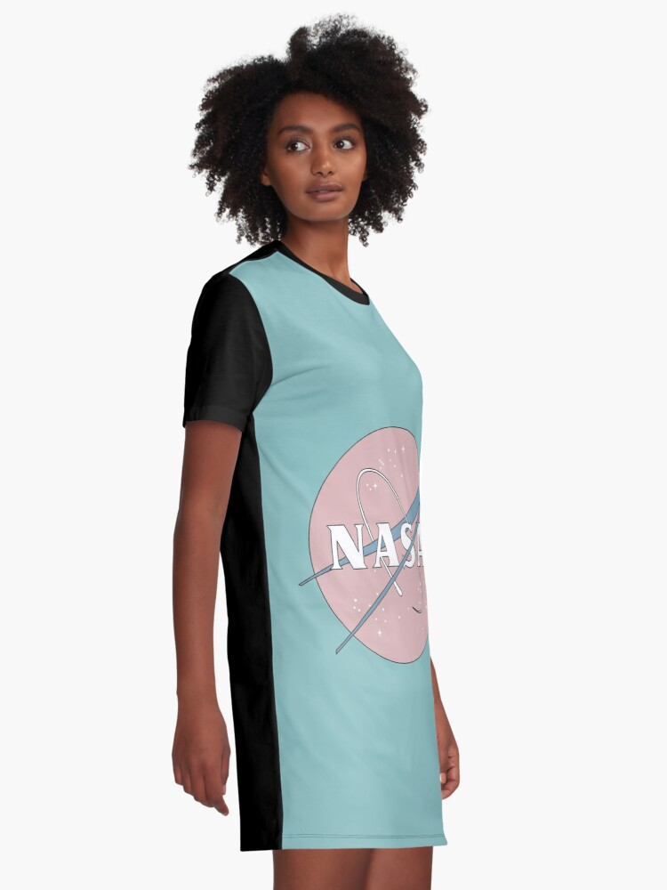 Alternative Ansicht von PASTELL NASA T-Shirt Kleid