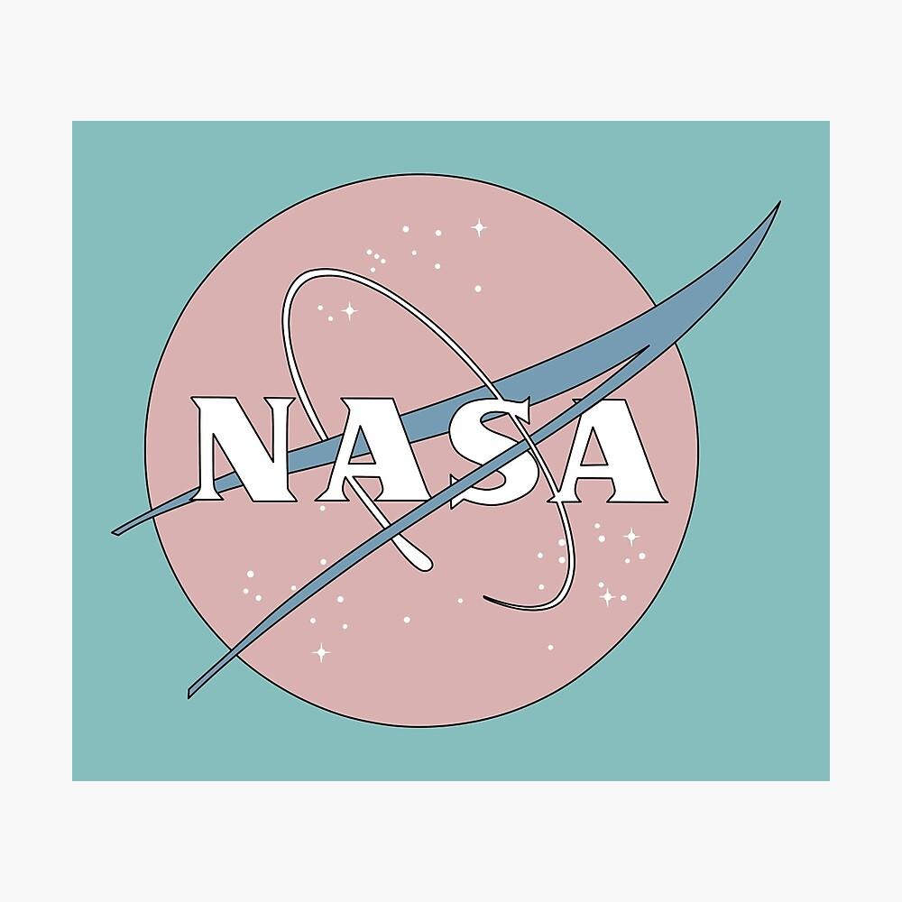 PASTELL NASA Fotodruck