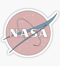 PASTEL NASA Sticker