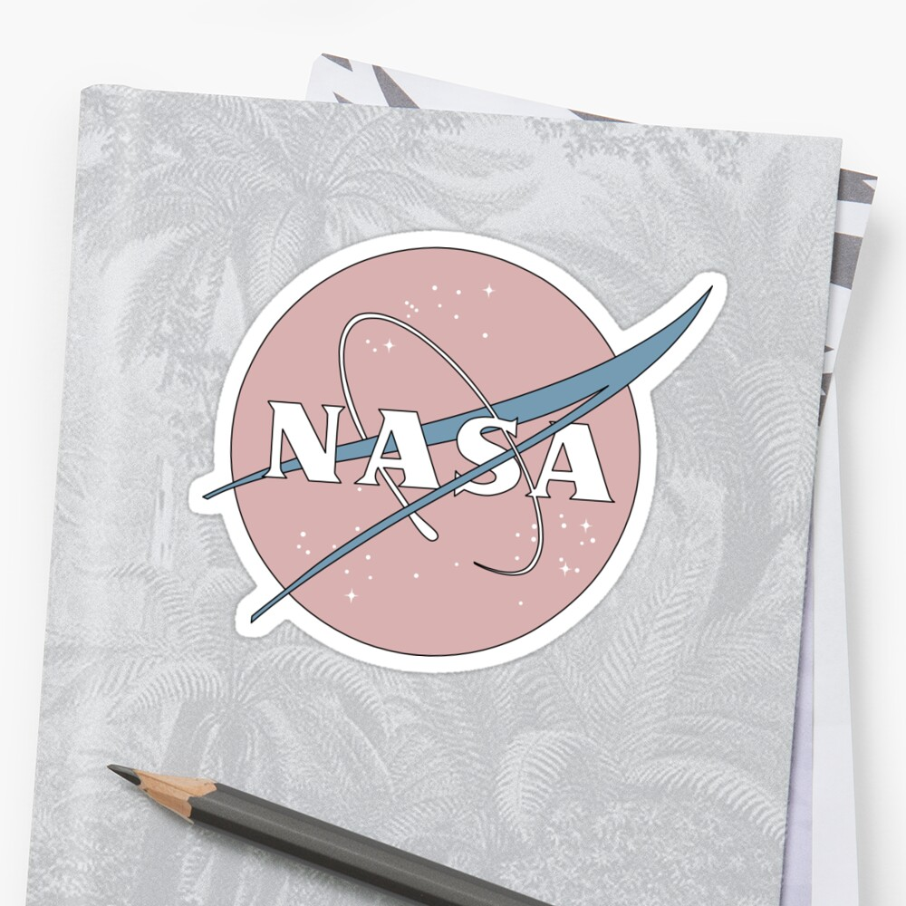 PASTELL NASA Sticker