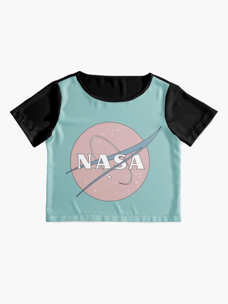 Alternative Ansicht von PASTELL NASA Chiffon Top