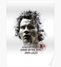 Ryan Giggs - Manchester United Legend Poster