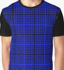 Electric blue geometric Graphic T-Shirt