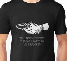 Twenty One Pilots Doubt Lyrics (White) Unisex T-Shirt