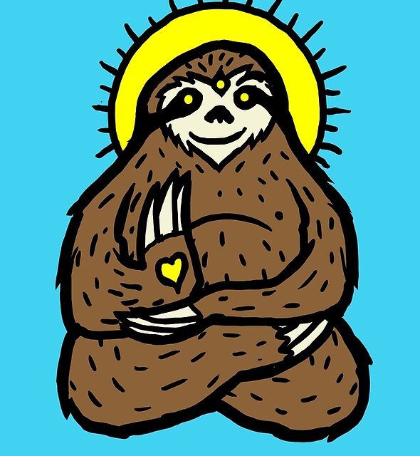 Spirit Sloth by Jonah Block
