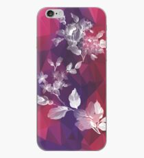 Violet Floral iPhone Case