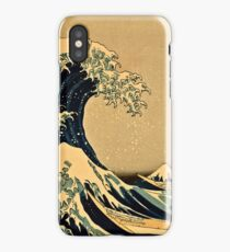 Katsushika Hokusai - The Great Wave Off the Coast of Kanagawa 19th century iPhone Case/Skin