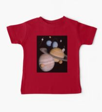 VOYAGER, Planets, Moons, the two spacecraft have visited Kids Clothes