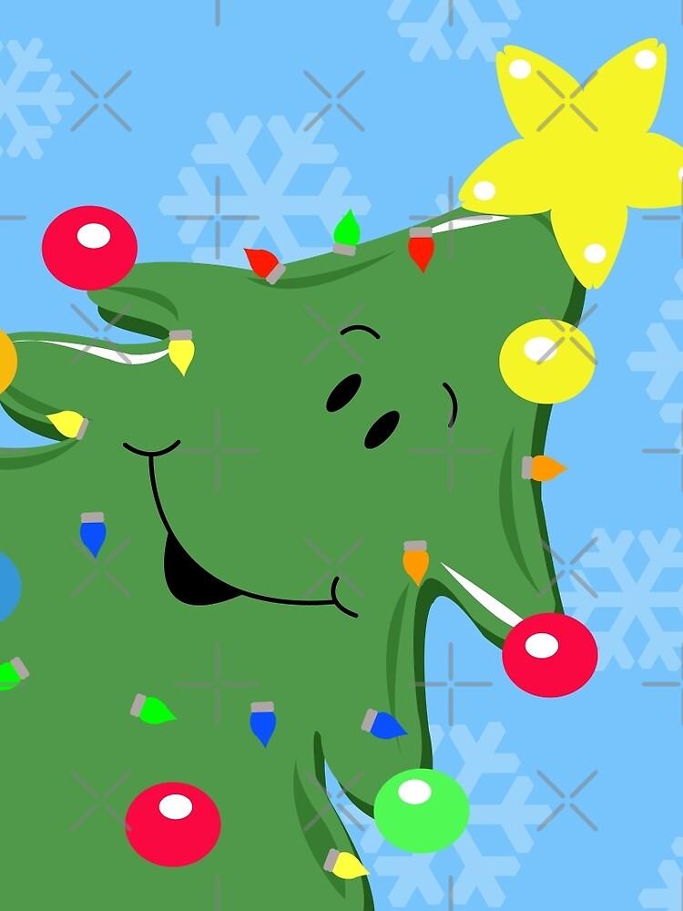 Happy Christmas Tree by JessDesigns