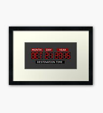 Oct 21st 2015 – BTTF, October Framed Print