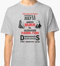 Burr Vs Hamilton Classic T-Shirt