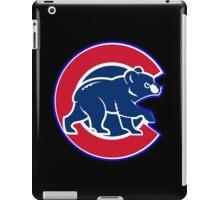 chicago cubs TB @_@@ logo iPad Case/Skin