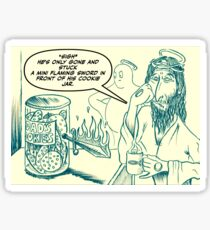 God's cookie jar Sticker