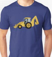 Construction Backhoe Digger Unisex T-Shirt