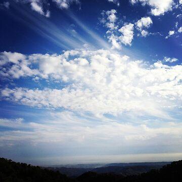 Dragon clouds by AngieRocksArt