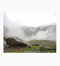 Sca Fell Clouds Photographic Print