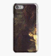 Rembrandt - Susanna And The Elders iPhone Case/Skin