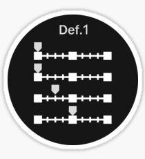 Def. 1 Picture Profile Sticker