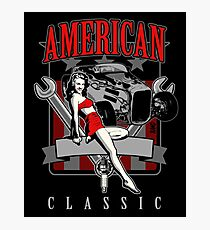 American classic Photographic Print