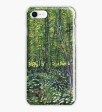 Vincent Van Gogh - Trees And Undergrowth, July 1887 - 1887  iPhone Case/Skin