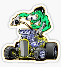 Hot rod Eddie Sticker