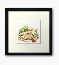Panini Sandwich Framed Print
