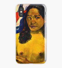 Paul Gauguin - Delightful Land (Te Nave Nave Fenua) (1892)  iPhone Case/Skin