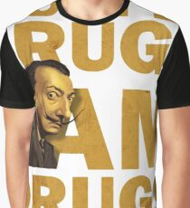 Salvador Dali , i am drugs Graphic T-Shirt