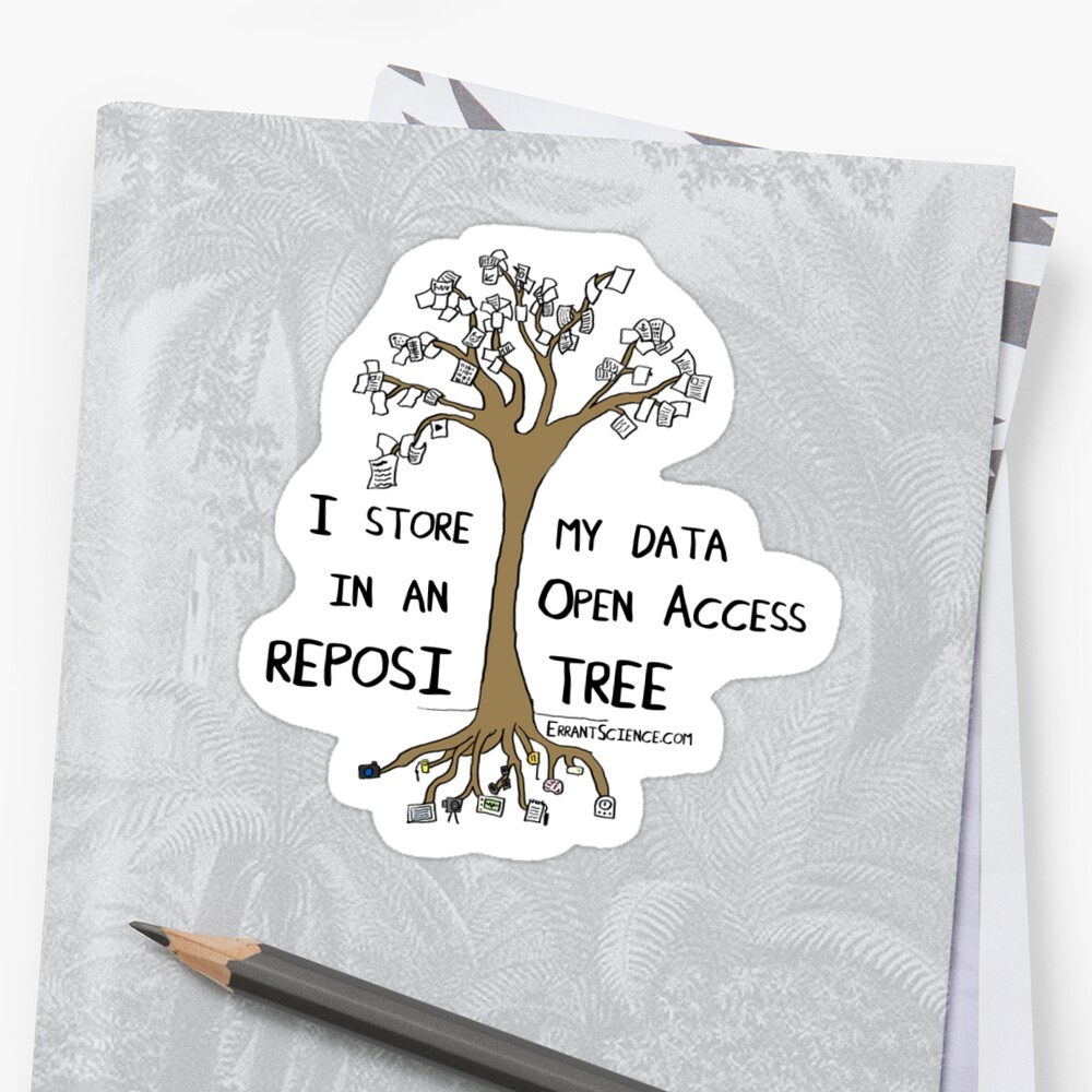 Reposi-Tree sticker by ErrantScience