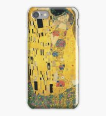 Gustav Klimt - The Kiss, 1907-08 iPhone Case/Skin