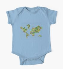 The Nations of Catan Short Sleeve Baby One-Piece