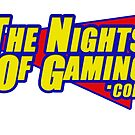 The nights of gaming logo by DBloke
