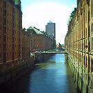 Hamburg HafenCity -tiltshift (5) - Speicherstadt by OLIVER W