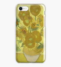 Vincent Van Gogh - Sunflowers 1989 iPhone Case/Skin