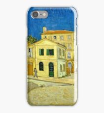 Vincent Van Gogh -  Yellow House, ` Street, September 1888 - 1888  iPhone Case/Skin