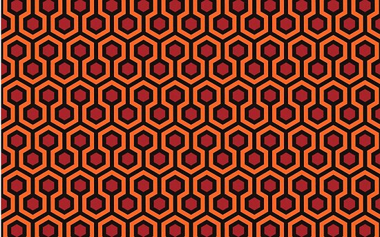 the shining carpet pattern posters by sirllamalot redbubble