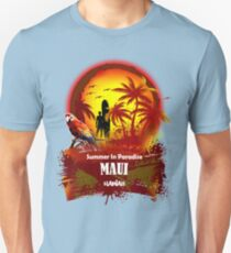 The Best Maui Surfer Spirit Unisex T-Shirt