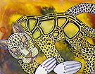 Golden Leopard by Lynnette Shelley