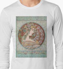 Alphonse Mucha - Ivy, 1901  T-Shirt
