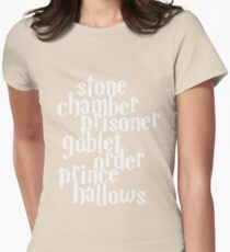 Stone Chamber Prisoner Goblet Order Prince Hallows #White Version T-Shirt