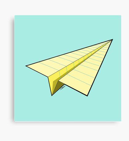 Paper Airplane 10 Canvas Print