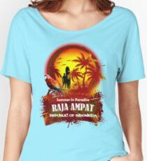 Raja Ampat Surfer's Nest Women's Relaxed Fit T-Shirt