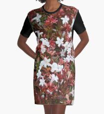 Jasmine Pink Graphic T-Shirt Dress
