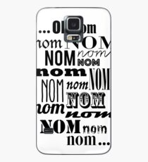 Om Nom Nom Case/Skin for Samsung Galaxy