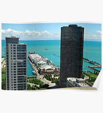 Chicago IL Navy Pier If you like, please purchase, try a cell phone cover thanks Poster