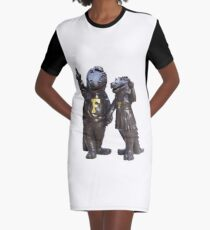 The Gators Transparent For T Shirts Graphic T-Shirt Dress
