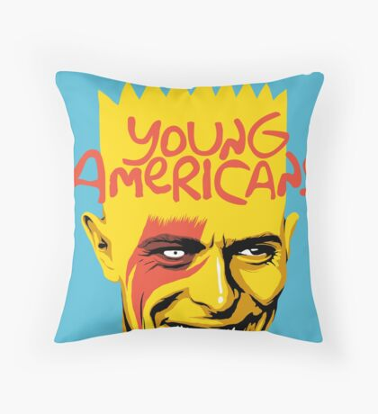The Young Throw Pillow