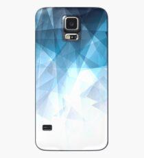 Ice Blue Fractals Case/Skin for Samsung Galaxy